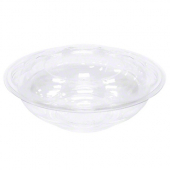 Swirl Bowl with Lid, 18 oz Clear Plastic