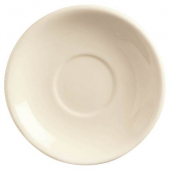 "World Tableware - Ultima Princess Saucer, 6"" Cream White Stoneware"