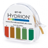 Hydrion Sanitizer (Quat) Test Paper Roll