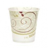 "Solo - Cup, 5 oz ""Symphony"" Paper Cold Water/Refill Cup"