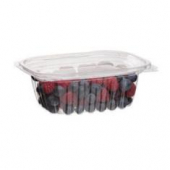 Eco-Products - Deli Container with Lid, 12 oz Rectangular Clear PLA Plastic