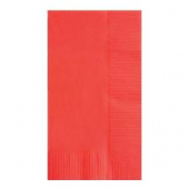 Dinner Napkin, 1/8 Fold, 2 Ply, 15x17, Red