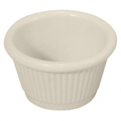 Winco - Fluted Ramekin, 2 oz Bone Melamine