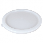 Cambro - Poly Rounds Food Storage Container Lid, White Poly Plastic, Fits 12/18/22 qt Containers