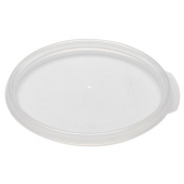 Cambro - Poly Rounds Food Storage Container Cover, Round Translucent PP Plastic, Fits 12/18/22 qt Co