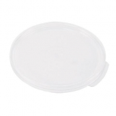 Cambro - Poly Rounds Food Storage Container Lid, White Poly Plastic, Fits 6/8 qt Containers