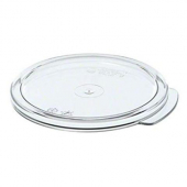 Cambro - Camwear Rounds Food Storage Container Lid, Clear PC Plastic, Fits 1 qt Containers