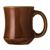 World Tableware - Ultima Princess Caramel Mug, 7 oz Brown Stoneware
