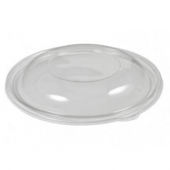 Sabert - Dome Lid, Fits 18 oz Bowl, Round Clear PET Plastic