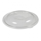 Sabert - Lid for 8-16 oz Round Bowls, Dome Clear PET Plastic