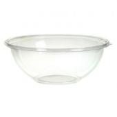 Sabert - Bowl, 8 oz Round Clear PET Plastic