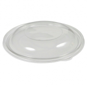 Sabert - Lid for 18-32 oz Round Bowls, Dome Clear PET Plastic