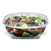 Fresh 'n Clear Catering Bowl, 160 oz. Clear PET Plastic