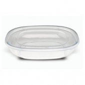 Fresh 'n Clear Catering Bowl, 80 oz. Clear PET Plastic