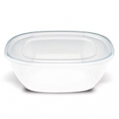 Fresh 'n Clear Catering Bowl, 320 oz. Clear PET Plastic