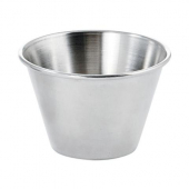 Winco - Sauce Cup, 4 oz Stainless Steel