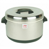 Sushi Rice Pot, 60 Cup Insulated Stainless Steel