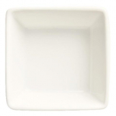 World Tableware - Slate Dipping Bowl, 4 oz Ultra Bright White Porcelain