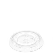 Amhil - Portion Cup Lid, Fits 1 oz Cups, Clear Plastic