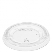 Amhil - Portion Cup Lid, Fits 3.25, 4 and 5.5 oz Cup, Clear Plastic