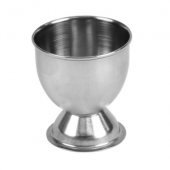 Egg Cup, 2x2.125 Footed Stainless Steel