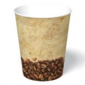 Paper Hot Cup, 12 oz, Tuscany Design