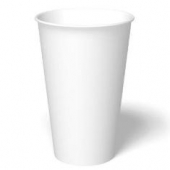 Paper Hot Cup, 16 oz, White
