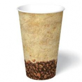 Paper Hot Cup, 16 oz, Tuscany Design