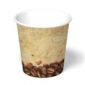 Paper Hot Cup, 4 oz, Tuscany Design