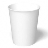 Paper Hot Cup, 8 oz, White