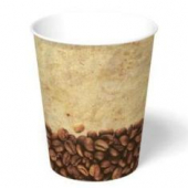 Paper Hot Cup, 8 oz, Tuscany Design