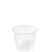 Amhil - Portion Cup, 1 oz, Translucent Plastic