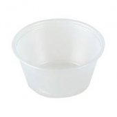 Amhil - Portion Cup, 2.5 oz, Translucent Plastic