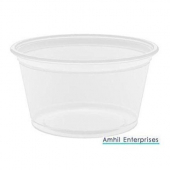 Amhil - Portion Cup, 3.25 oz, Translucent Plastic
