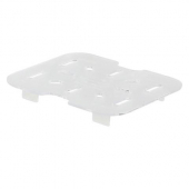 Winco - Food Pan Drain Shelf, 1/6 Size Clear PC Plastic