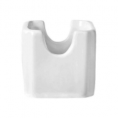 World Tableware - Sugar Packet Holder, Bright White Porcelain