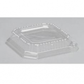 Genpak - Lid, Clear Plastic Dome, Fits 20 oz Square Bowl