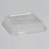 "Genpak - Lid, Clear Plastic High Dome, Fits 9"" Square Plate"