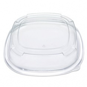"Fresh 'n Clear Catering Tray 3"" High Dome Lid, 12"" Clear PET Plastic"