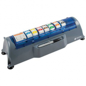 "San Jamar - Saf-T-Label Dispener, Fits 11 1"" Wide or 5 2"" Wide Labels"