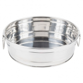 American Metalcraft - Metal Tub, 9.5x3.25 Round Stainless Steel