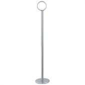 "Winco - Table Number Holder, 12"" Chrome"