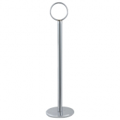 "Winco - Table Number Holder, 8"" Chrome"