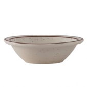 Tuxton - Bahamas Fruit Bowl, 3.5 oz Eggshell with Brown Speckles