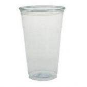 Solo - Cup, 24 oz Clear Plastic Cold Cup
