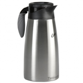 Wilbur Curtis - Coffee Server with Liner and Brew Thru Lid, 1.9 Ltr Stainless Steel