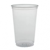 Solo - Cup, 20 oz Clear Plastic Cold Cup