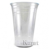 Karat - Plastic Cold Cup, 20 oz Clear