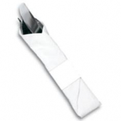 Napkin Band, White 1.5x4.25