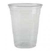 Solo - Cup, 16-18 oz Clear Plastic Cold Cup